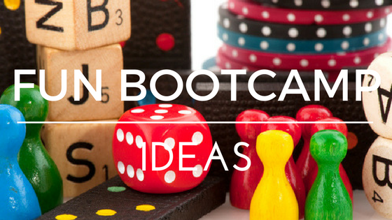 fun bootcamp ideas for group bootcamp instructors