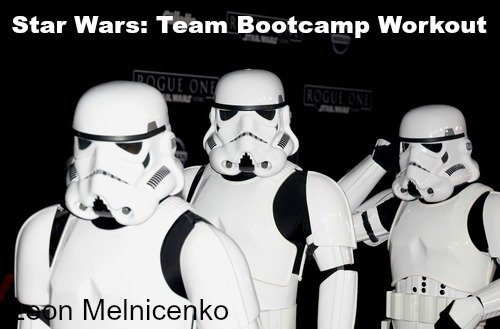 Fun Team Workouts – Star Wars Themed Workout