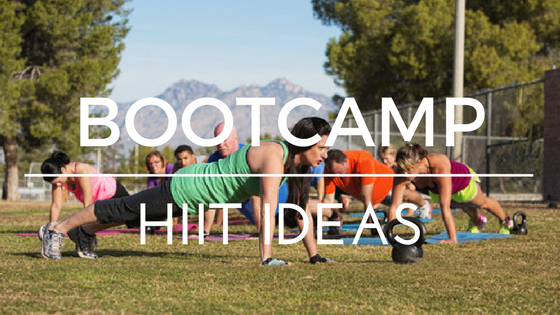 Bootcamp HIIT Ideas & 34 HIIT Workout Formulas
