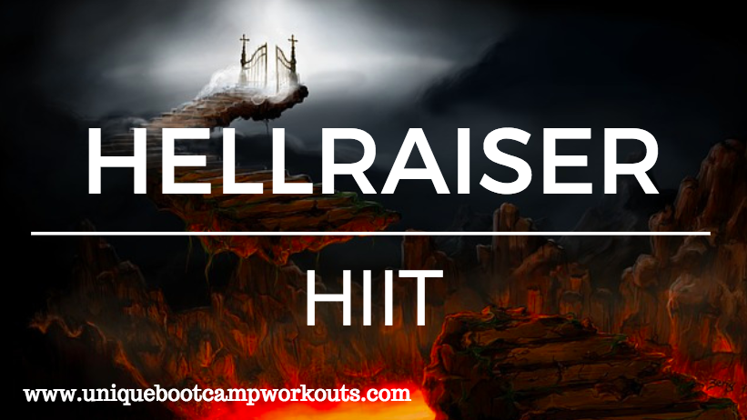 HIIT Bootcamp Ideas – Hell Raiser HIIT