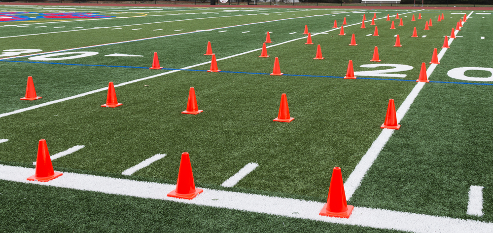 fitness marker cones bootcamp equipment